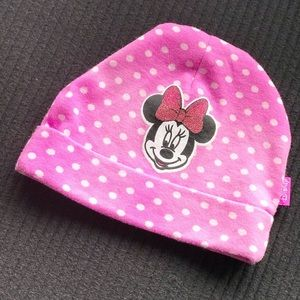 5/$25 MINNIE MOUSE INFANT HAT BY DISNEY BABY